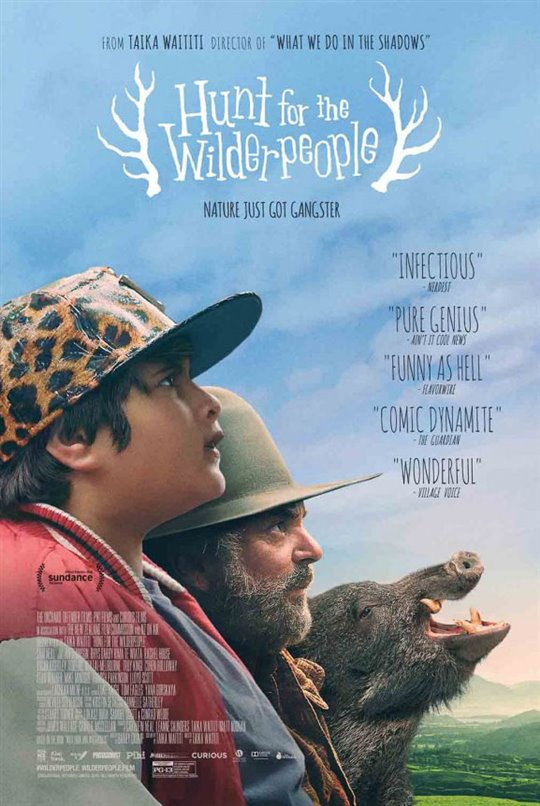 Chasse aux Wilderpeople (v.o.a.s.-t.f.) Large Poster