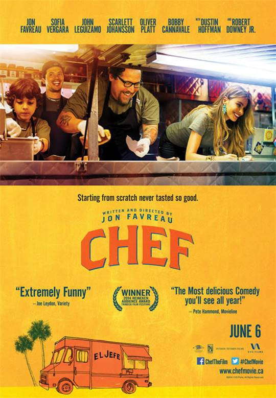 Chef (2014) Large Poster