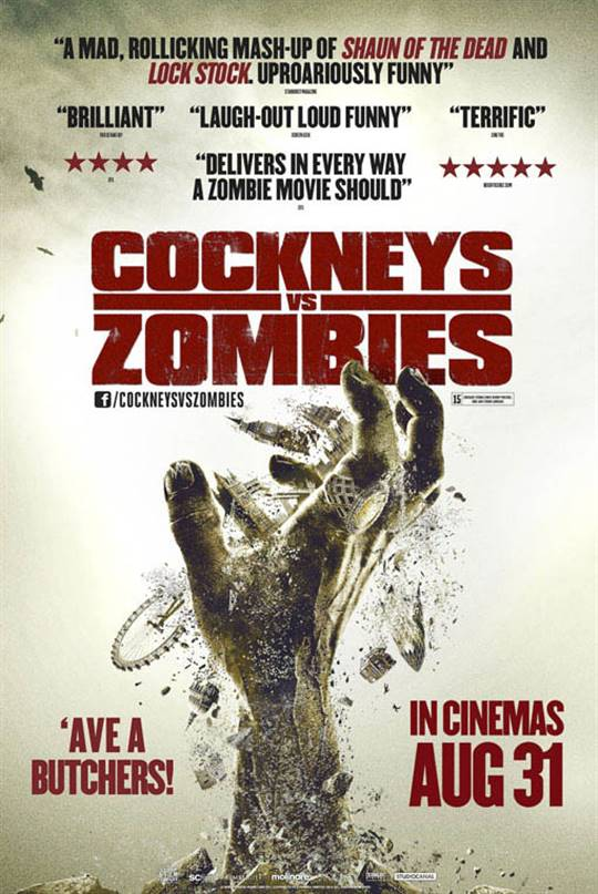 Cockneys vs Zombies Large Poster