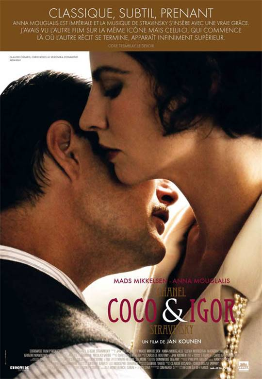 Coco Chanel & Igor Stravinsky Large Poster