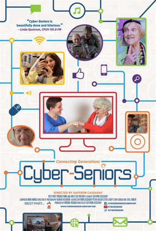 Cyber-Seniors Large Poster