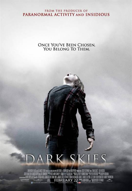 Dark Skies Large Poster