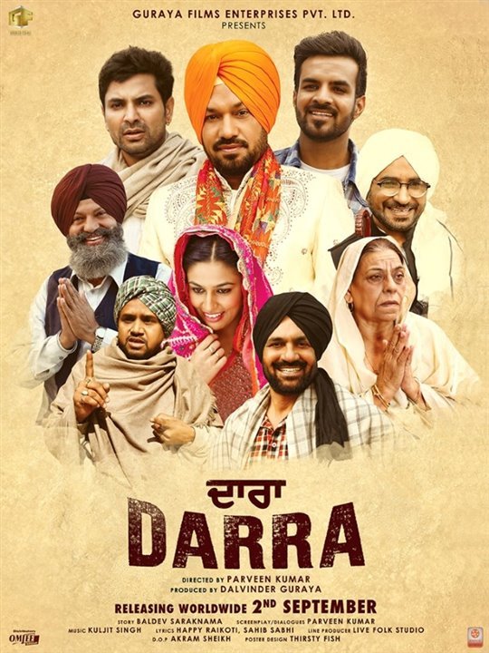 Darra Large Poster