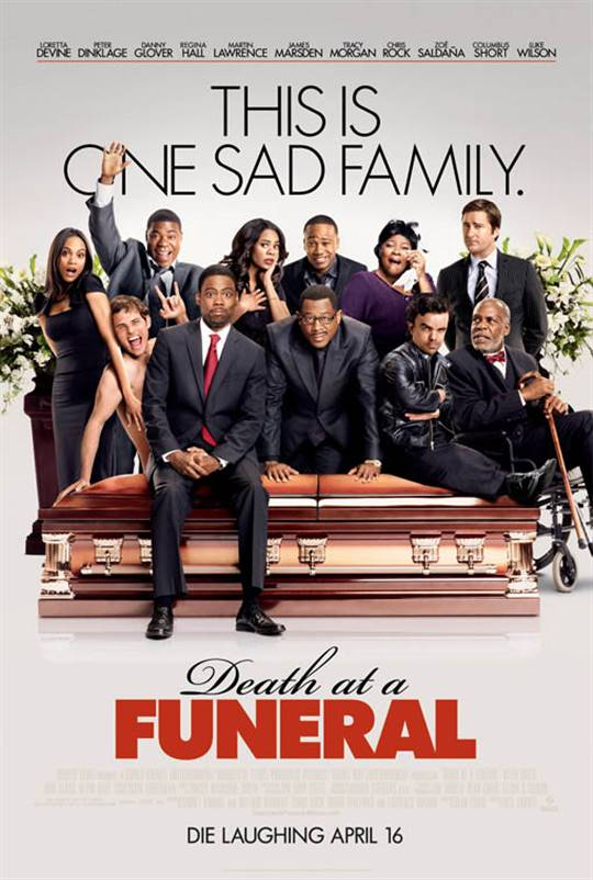 Death at a Funeral Large Poster