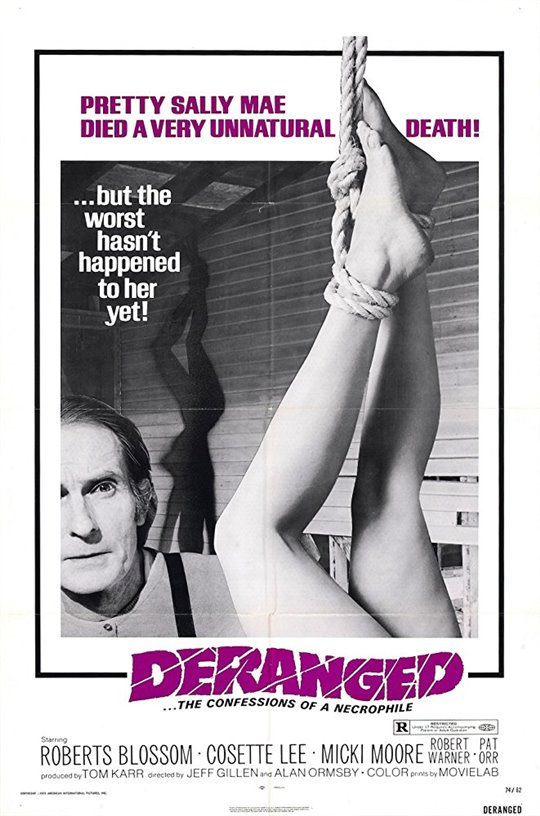 Deranged: The Confessions of a Necrophile