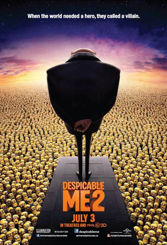Despicable Me 2 Large Poster