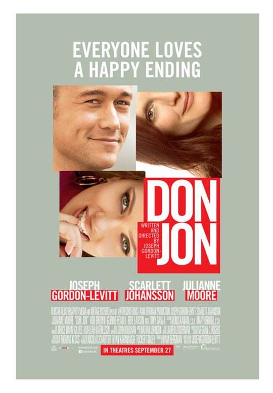 Don Jon Large Poster