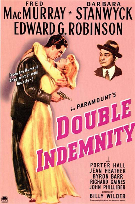Double Indemnity Large Poster