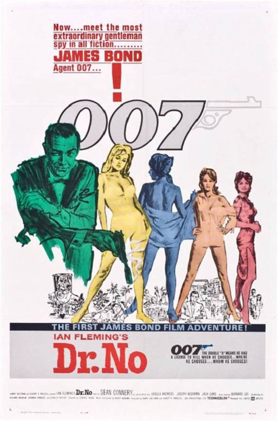 Dr. No Large Poster