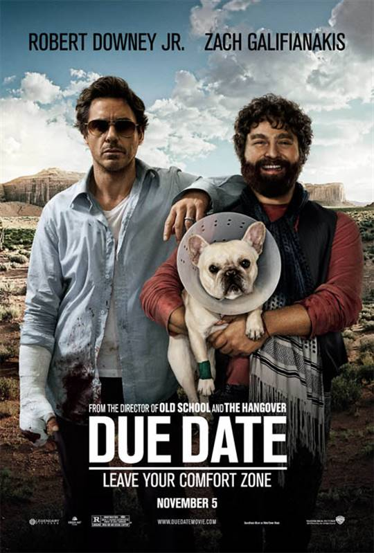 Due Date Large Poster