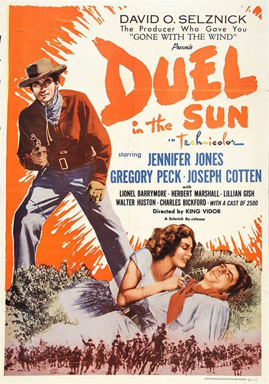 Duel in the Sun Large Poster