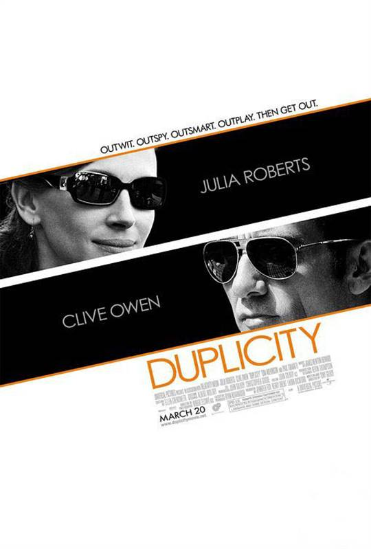 Duplicity Large Poster