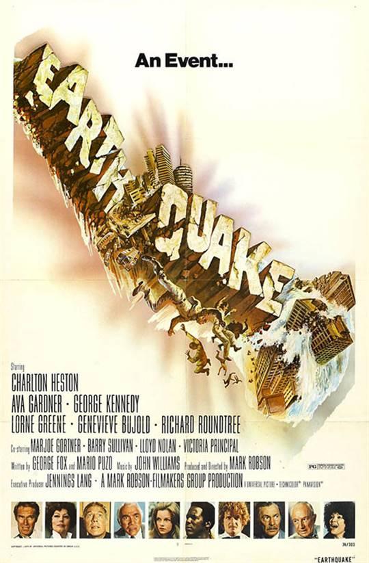 Earthquake Large Poster