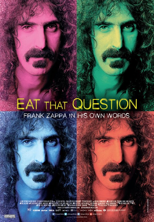 Eat That Question: Frank Zappa in His Own Words (v.o.a.) Large Poster