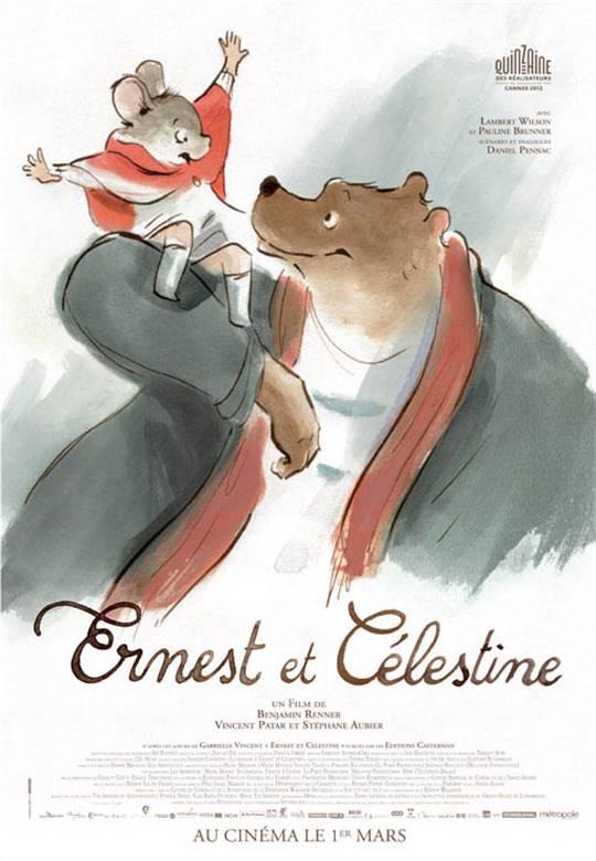 Ernest & Celestine Large Poster