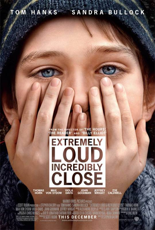 Extremely Loud & Incredibly Close Large Poster