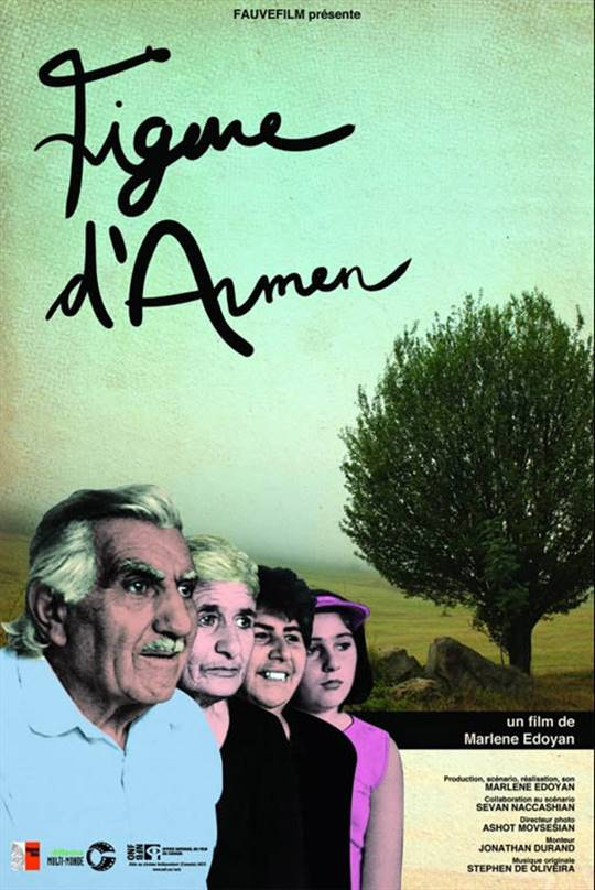 Figure of Armen Large Poster