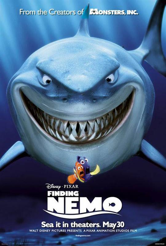 Finding Nemo Large Poster