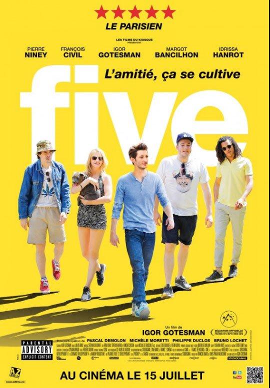 Five (v.o.f.) Large Poster