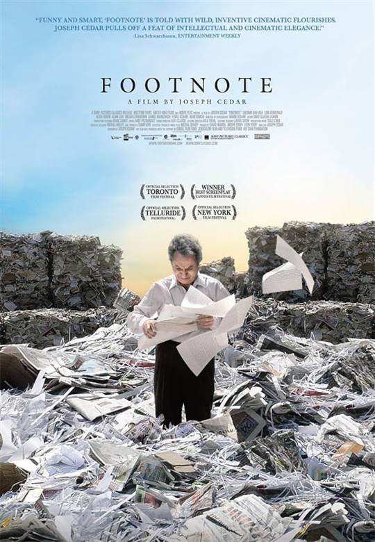 Footnote Large Poster