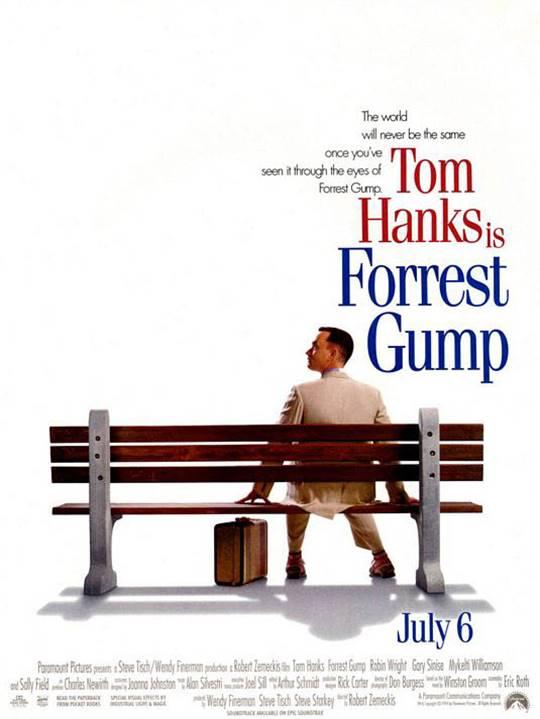 Forrest Gump Large Poster