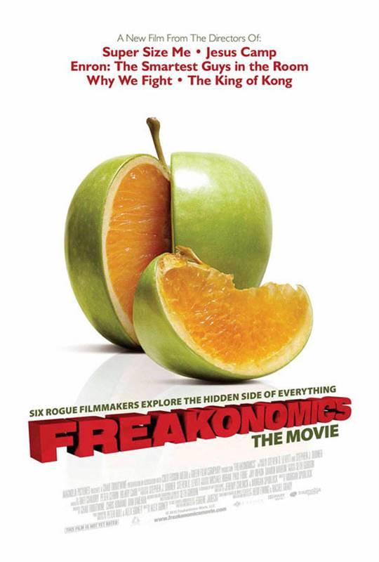 Freakonomics Large Poster