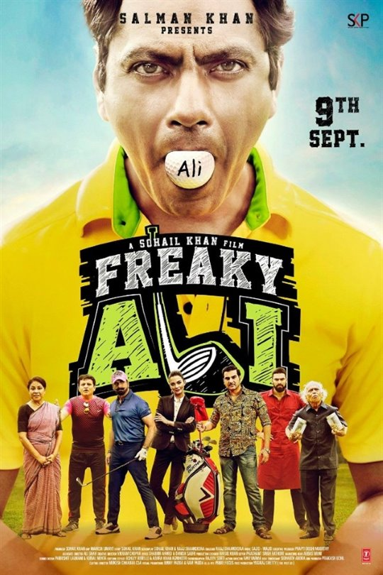 Freaky Ali Large Poster