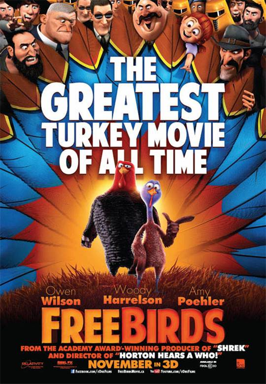 Free Birds Large Poster