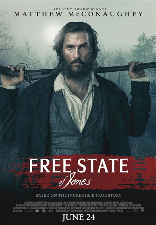 Free State of Jones Large Poster