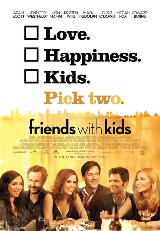 Friends with Kids Large Poster