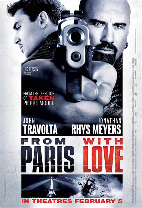 From Paris with Love Large Poster