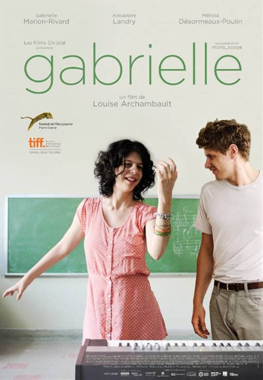Gabrielle Large Poster