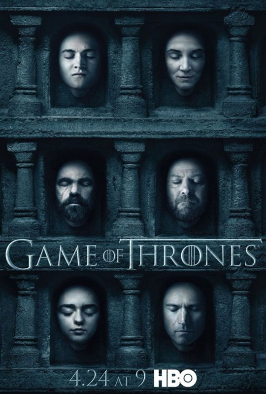 Game of Thrones: Season 6 Large Poster