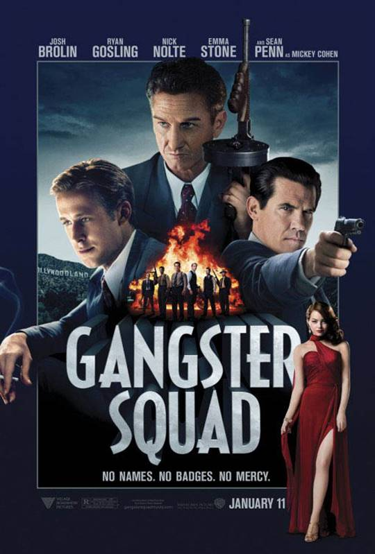 Gangster Squad Large Poster