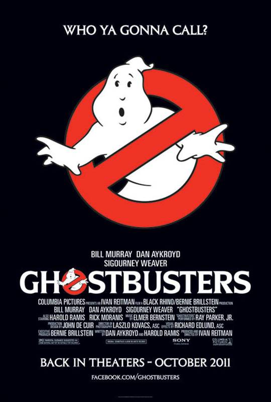 Ghostbusters (1984) Large Poster