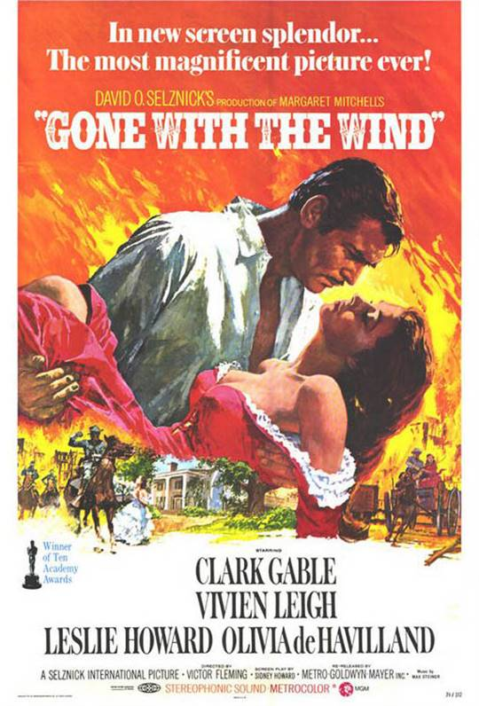 Gone With The Wind Large Poster
