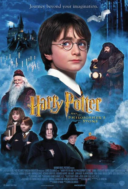 Harry Potter and the Philosopher's Stone Large Poster