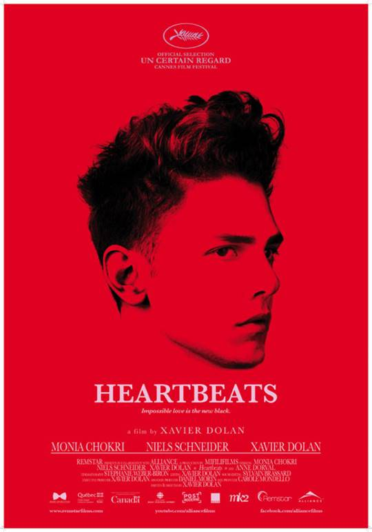 Heartbeats (Les amours imaginaires) Large Poster