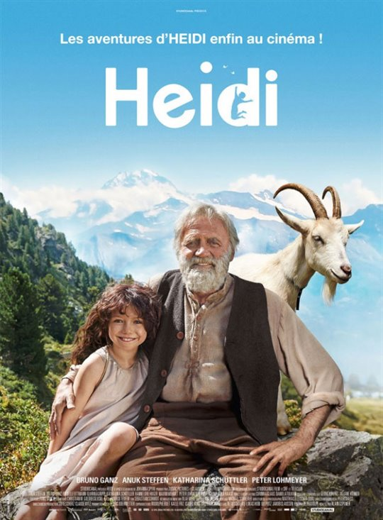 Heidi (v.o.f.) Large Poster