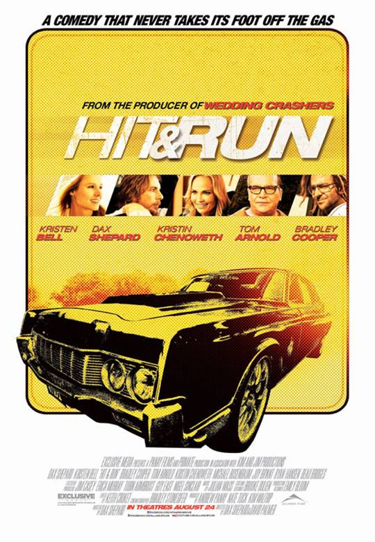 Hit & Run Large Poster