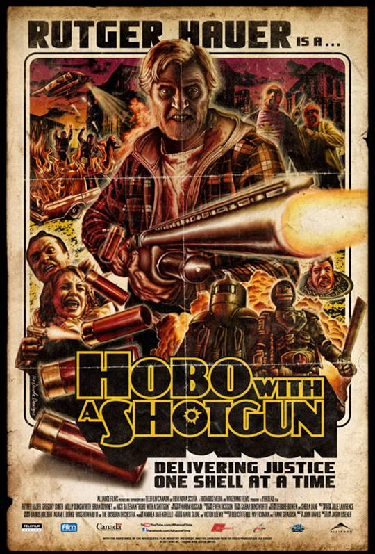 Hobo With a Shotgun Large Poster