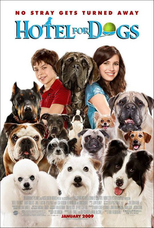 Hotel for Dogs Large Poster