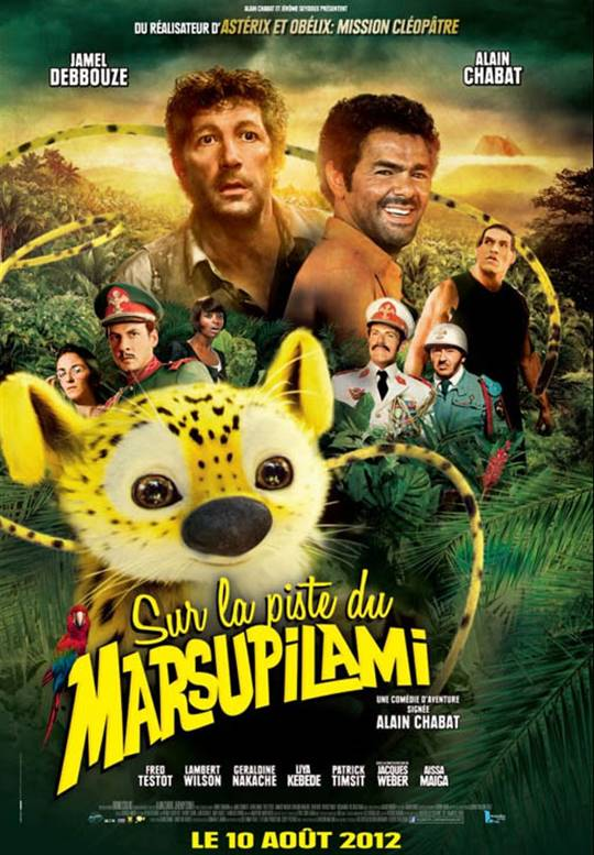 HOUBA! On the Trail of the Marsupilami Large Poster