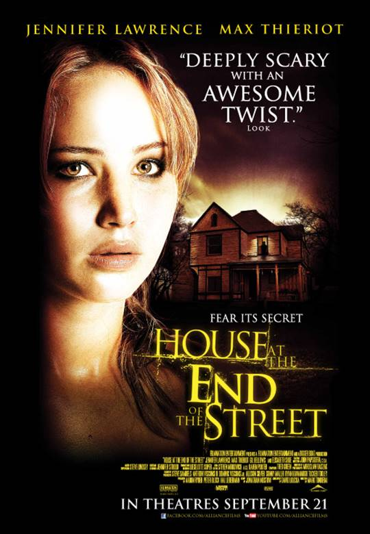 House at the End of the Street Large Poster