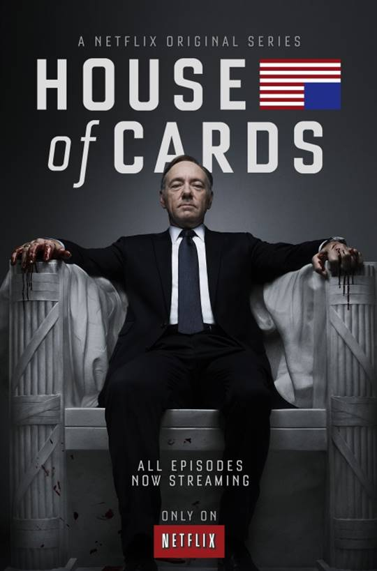 House of  Cards: Season 1 (Netflix) Large Poster
