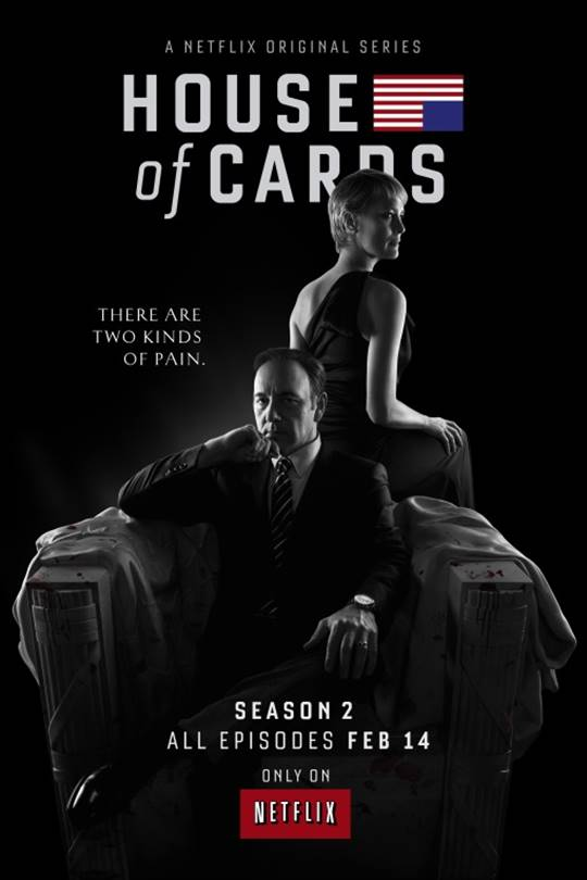 House of  Cards: Season 2 Large Poster