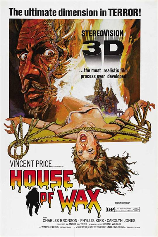 House of Wax (1953) Large Poster