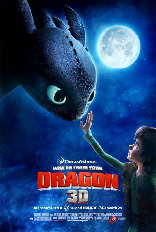 How to Train Your Dragon Large Poster