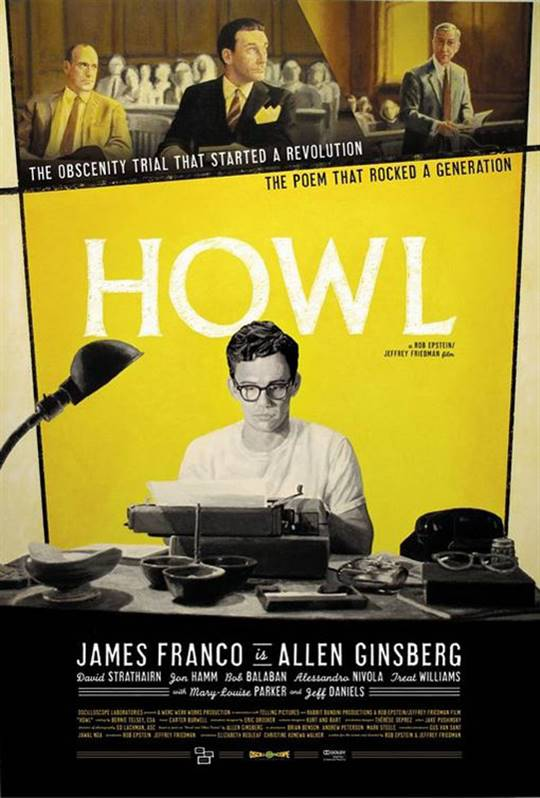 Howl Large Poster