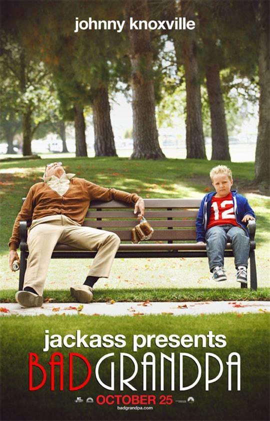 Jackass Presents: Bad Grandpa Large Poster